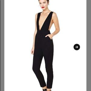 a7e75605686a Mustard seed black Jumpsuit